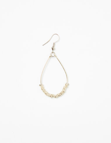 Silver tear drop earrings - View all > - Nícoli