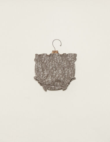 Taupe flower bloomers - View all > - Nícoli
