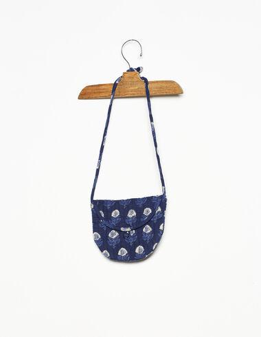 Bandolera redonda buti azul - Complementos - Nícoli