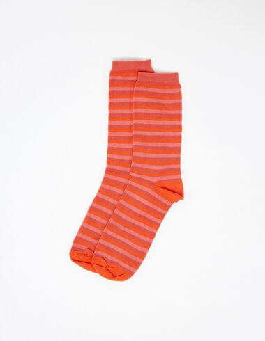 Calcetines rayas rojos y rosas - Ver todo > - Nícoli