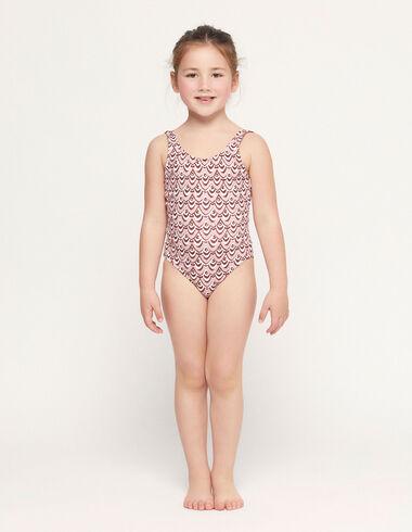 Traje de baño ondas rosa - Teen outfits - Nícoli