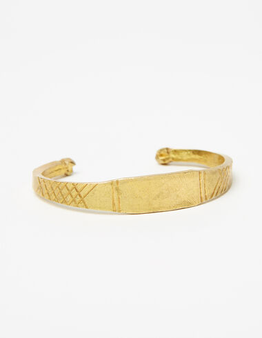 Ethnic gold metal bracelet - View all > - Nícoli