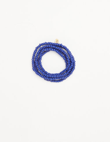 Long blue bead necklace  - View all > - Nícoli