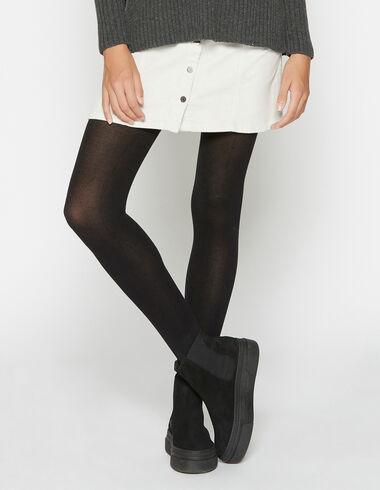Mini falda pana cruda con botones - Faldas - Nícoli