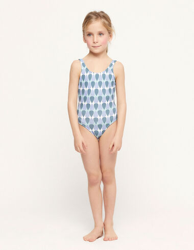 Blue drops swimsuit - Teen outfits - Nícoli