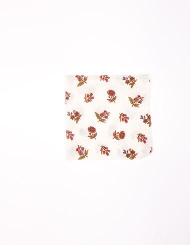 Pañuelo flor multicolor - New Flower Print - Nícoli