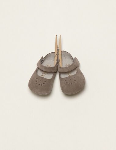 Grey mary janes - View all > - Nícoli