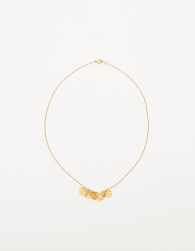 Circles necklace in gold tone - View all > - Nícoli