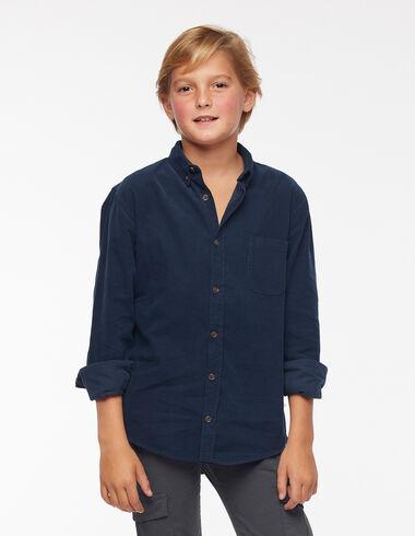 Camisa pana azul - Ver todo > - Nícoli