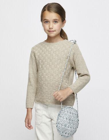 Girl´s nut texture jumper - Jumpers & Sweatshirts - Nícoli