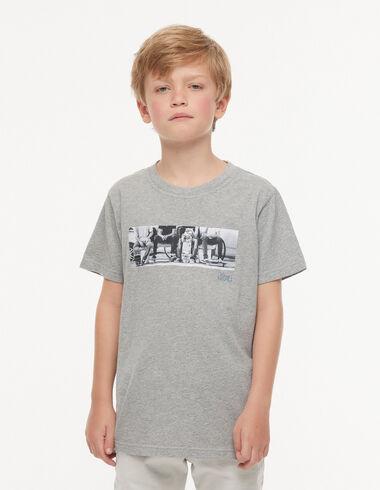 T-shirt 'groupe' gris - Tee-shirts - Nícoli