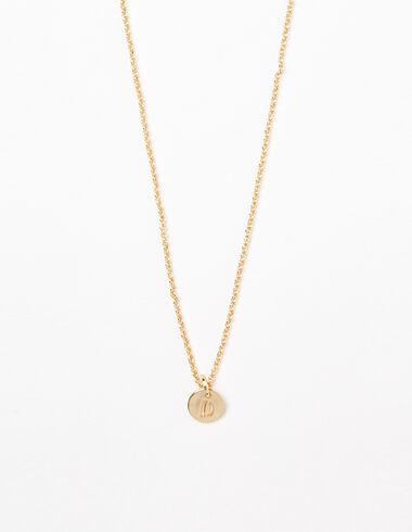"""Letter """"D"""" necklace - Necklaces - Nícoli"""