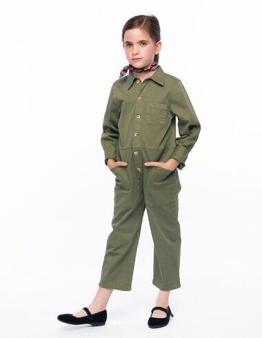 Mono largo verde militar - New in - Nícoli
