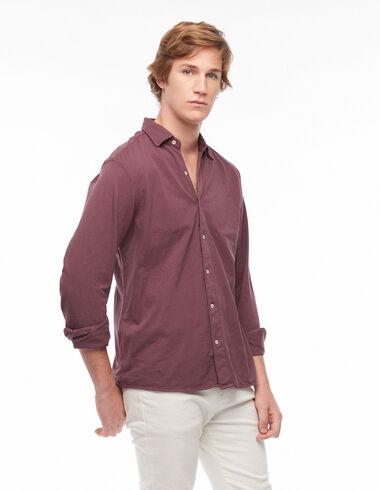 Maroon polo shirt dress - View all > - Nícoli