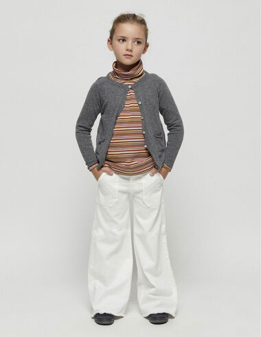 Wide leg trousers with pockets - Trousers - Nícoli