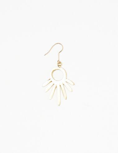 Boucles d'oreilles soleil doré - Boucles d'orielles - Nícoli
