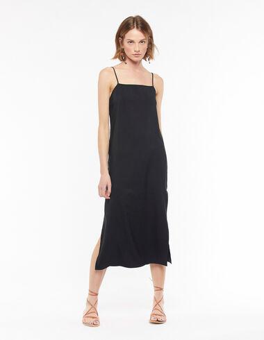 Black strappy back dress - Dresses - Nícoli