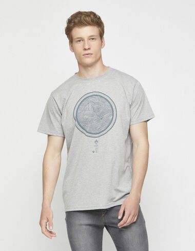 "Grey ""japan"" charity t-shirt - Charity t-shits - Nícoli"