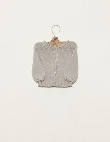 Mist cardigan with buttons - View all > - Nícoli
