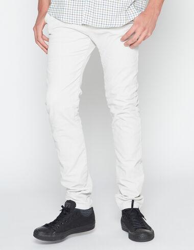 Pantalon en velours côtelé écru pour garçons - Pantalons - Nícoli