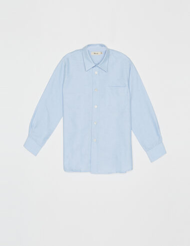 Chemise bleue - Chemises - Nícoli