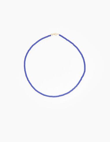 Collier gomme bleu - Voir tout > - Nícoli
