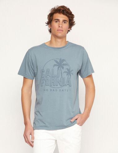 T-shirt « California » bleu - Traspasos (se oculta) - Nícoli