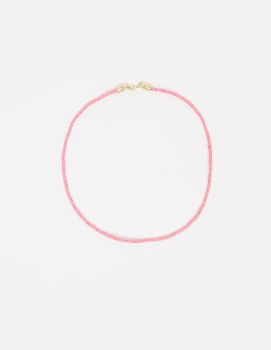 Collier petits élastiques rose - Voir tout > - Nícoli