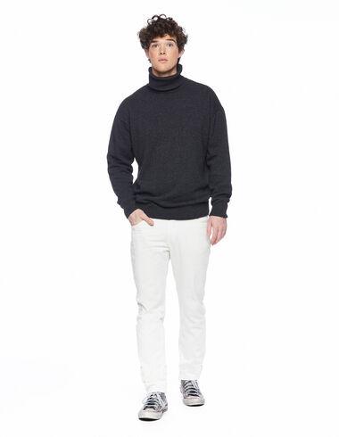 Ecru 5-pocket trousers - Trousers - Nícoli