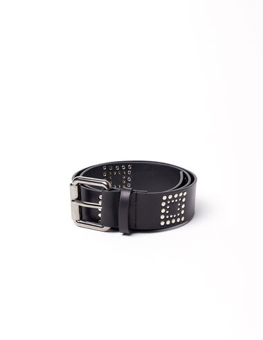 Black belt with square studs - View all > - Nícoli