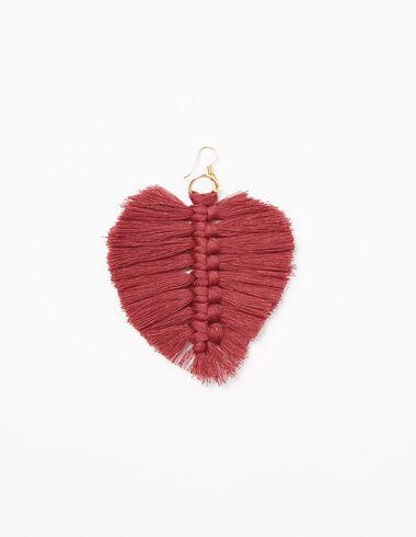 Strawberry thread earrings - Earrings - Nícoli