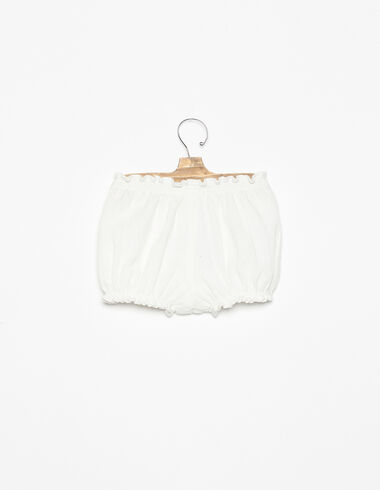 White trouser bloomers - View all > - Nícoli