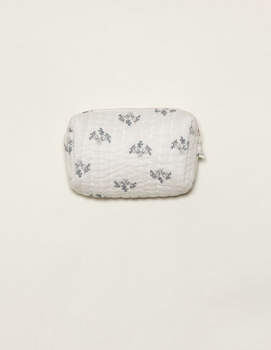 Blue branch toiletry bag - Baby changing bag - Nícoli