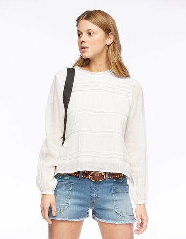 Chemise manches longues blanche - Voir tout > - Nícoli