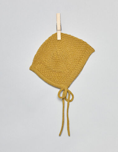 Mustard pointed bonnet - View all > - Nícoli