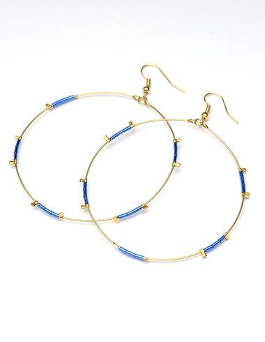 Pendientes Blue circle - Ver todo > - Nícoli