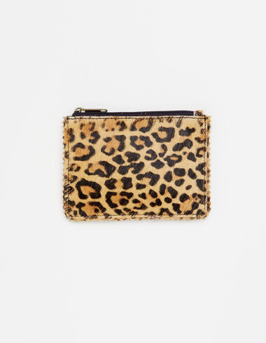 Ecru leopard coin purse - View all > - Nícoli