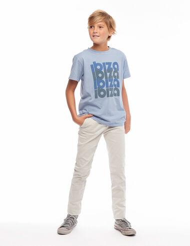 Ecru 5-pocket trousers - View all > - Nícoli