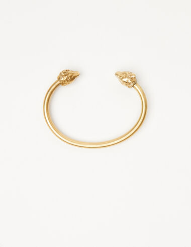 Wolf bracelet in gold tone - The jewellery edition - Nícoli