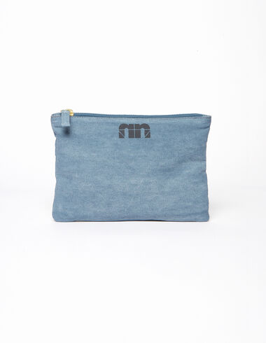 "Blue ""n"" make-up bag - Make-up bags - Nícoli"