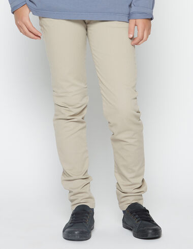 Boy´s beige chinos - View all > - Nícoli