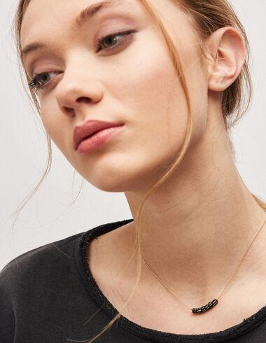 Collar rayas negro - Complementos - Nícoli