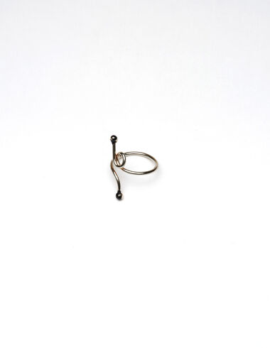 """""""Twisted Line"""" silver ring - View all > - Nícoli"""