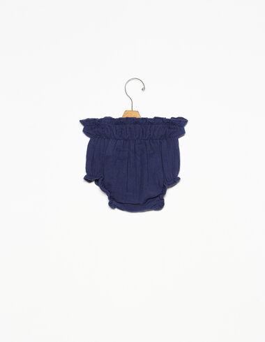 Bloomer à élastiques bleu - Voir tout > - Nícoli