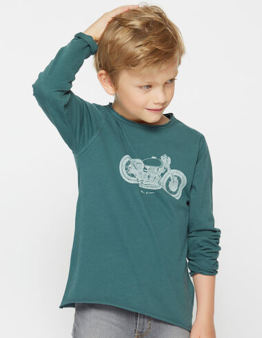 Boy's long-sleeved motorbike charity t-shirt - View all > - Nícoli