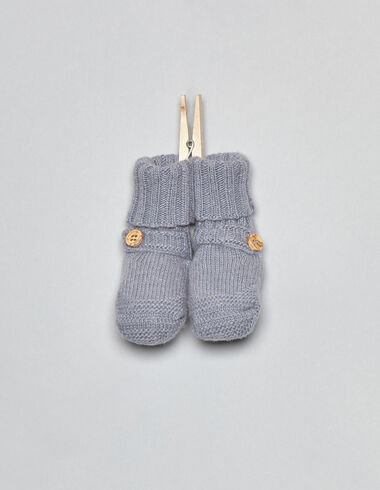 Gray bootees - Accesories - Nícoli