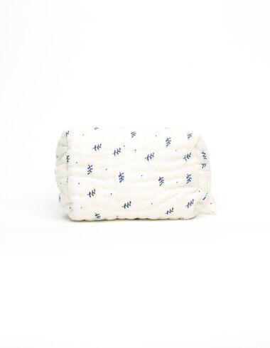 Neceser pequeño ramitas azul - Ver todo > - Nícoli