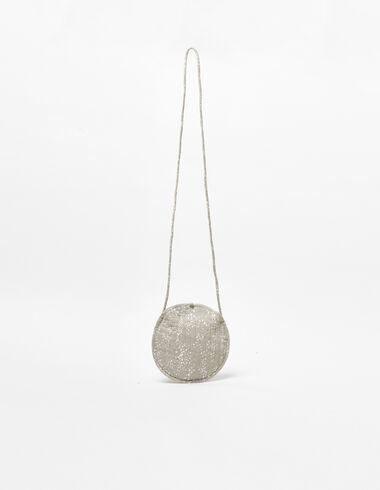 Taupe heart shoulder bag - Shoulder bags - Nícoli