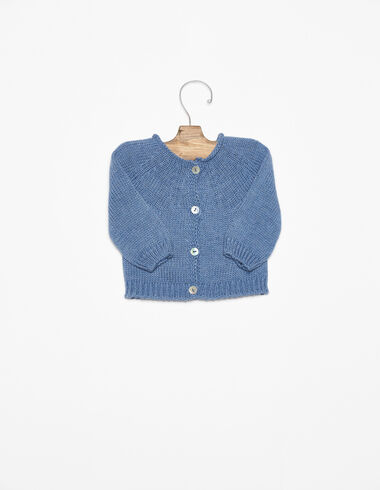 Veste boutons bleue - Voir tout > - Nícoli