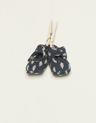 Chaussure boutons bouquets bleue - Voir tout > - Nícoli